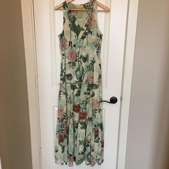 Maeve Dresses & Skirts - Anthropologie brand Maeve maxi dress sz 10